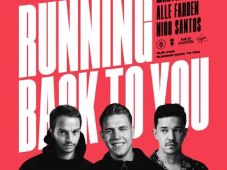 Martin Jensen, Alle Farben, Nico Santos - Running Back To You