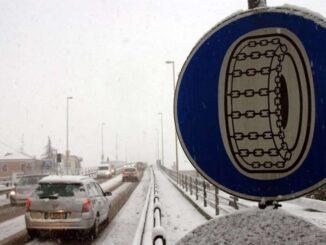 Obbligo di pneumatici invernali o catene a bordo