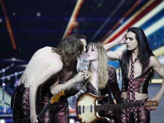 Maneskin - Zitti e uoni - Eurovision song contest